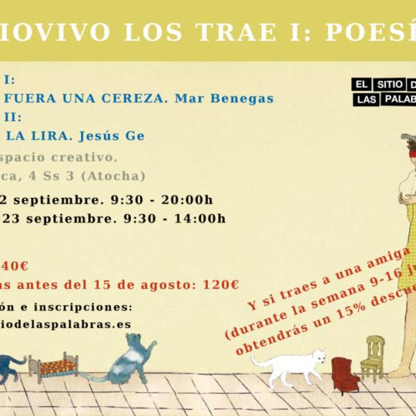 cartel EL TIOVIVO POESÍA sept Madrid