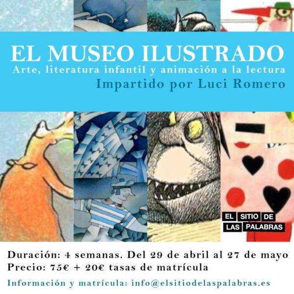 cartel EL MUSEO ILUSTRADO mayo