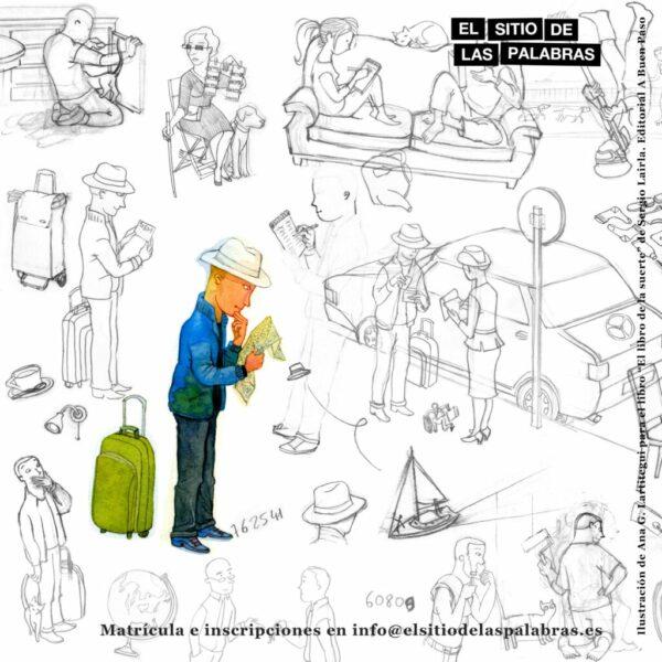 cartel DÓNDE VAS CON ESA IDEA imagen web sin título